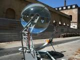 Lente esférica criada por arquiteto melhora a absorção de energia solar